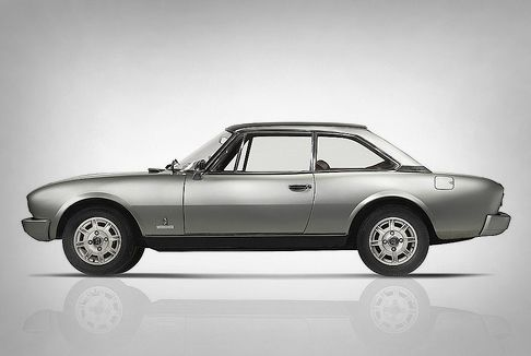 Peugeot 504 Coupe by Pininfarina