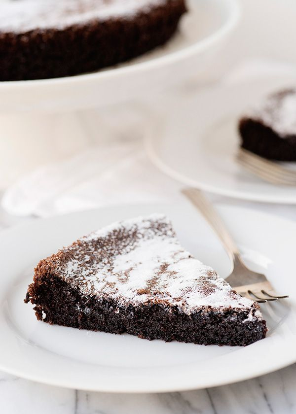 Gluten Free Dairy Free Chocolate Olive Oil Cake