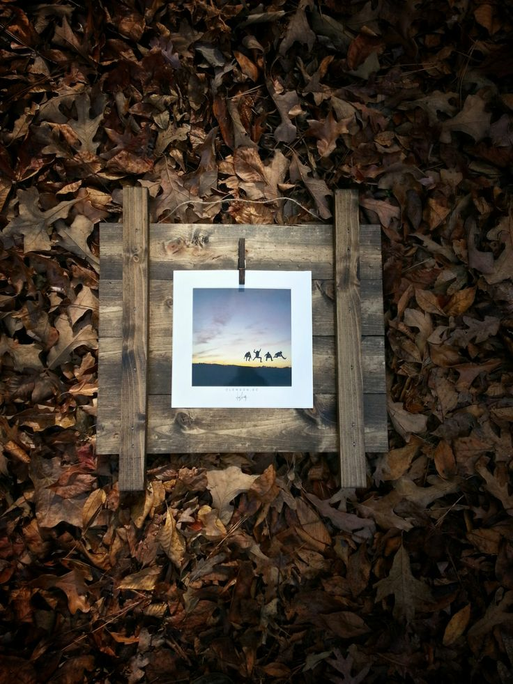 The Fourboarder. Hand crafted wooden picture frame by JackRobert7, My wonderful friend makes these!! BUY ONE ON ETSY!