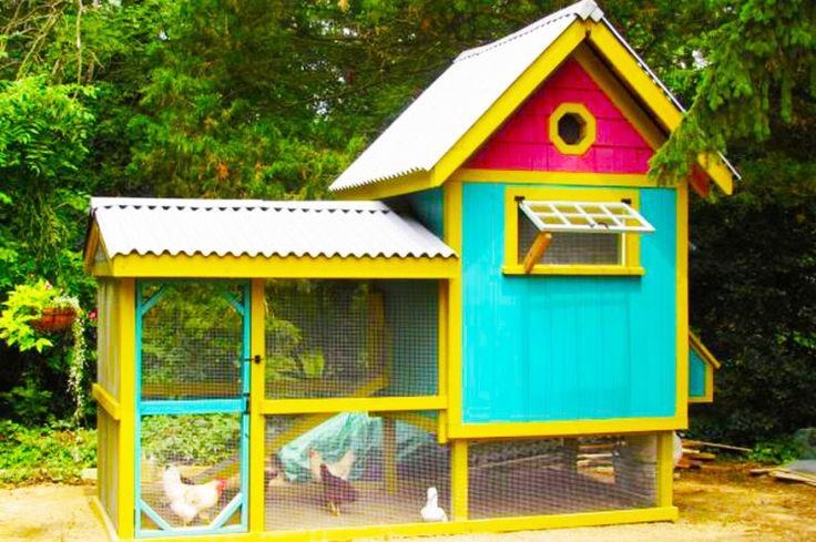 Hipster Backyard Chickens : hipster chicken coop