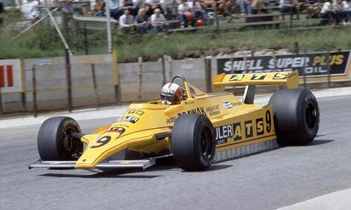 1980 GP RPA (Marc Surer) ATS D4 - Ford   Jan Lammers