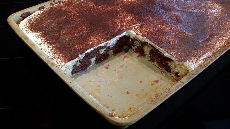 Donauwelle Kuchen aus dem großen Ofenzauberer von Pampered Chef. Martina Ziehl mit Pampered Chef bietet Hunderte Rezepte kostenlos
