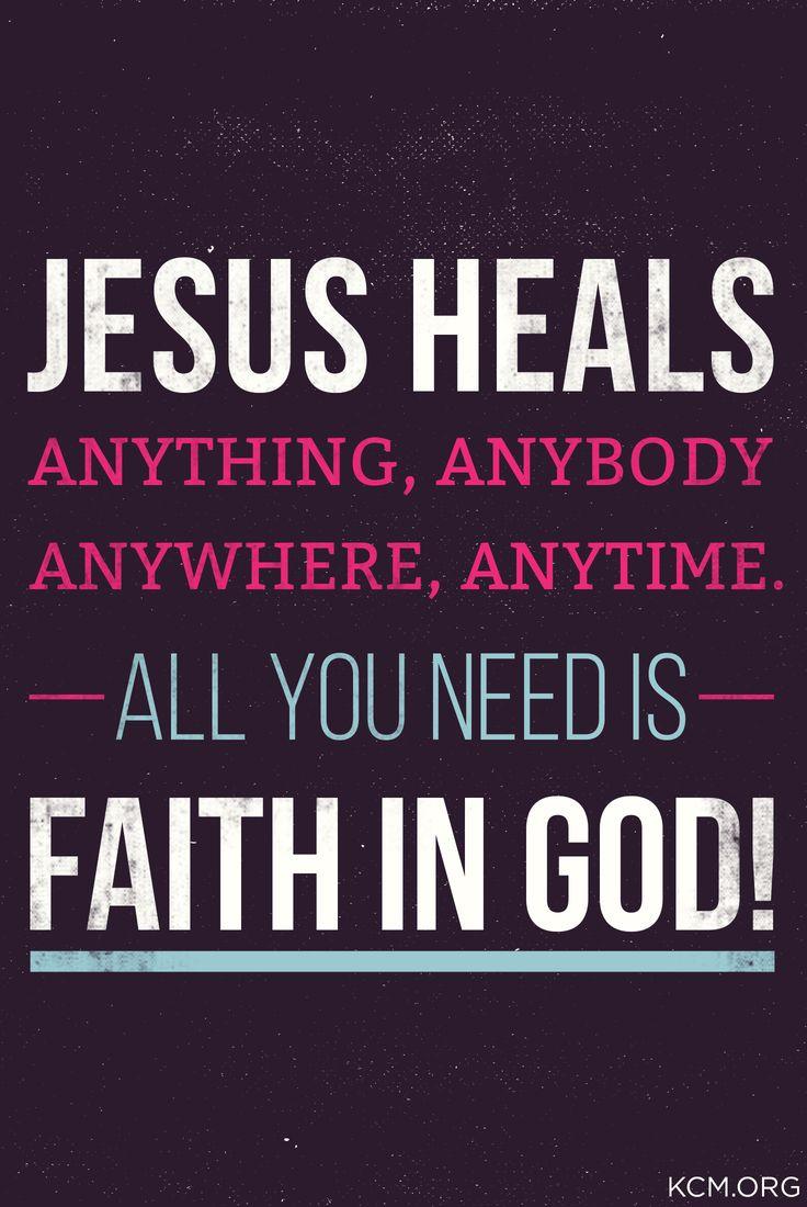 AMEN!! | Jesus heals, Inspirational bible quotes, Words of ...