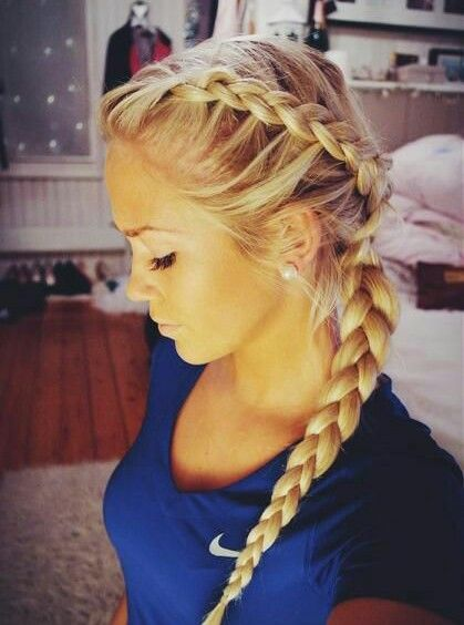 Dutch braid has so many beautiful variations available. Its appearance is complex but its creation is commonly simple.