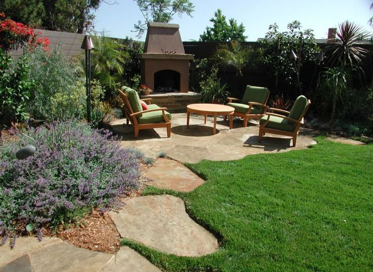 Have an acre to landscape... large backyard landscaping ideas ...stone patio is pretty.. Extension w built in fire pit?