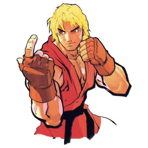 Ken Portrait - Characters & Art - Street Fighter III