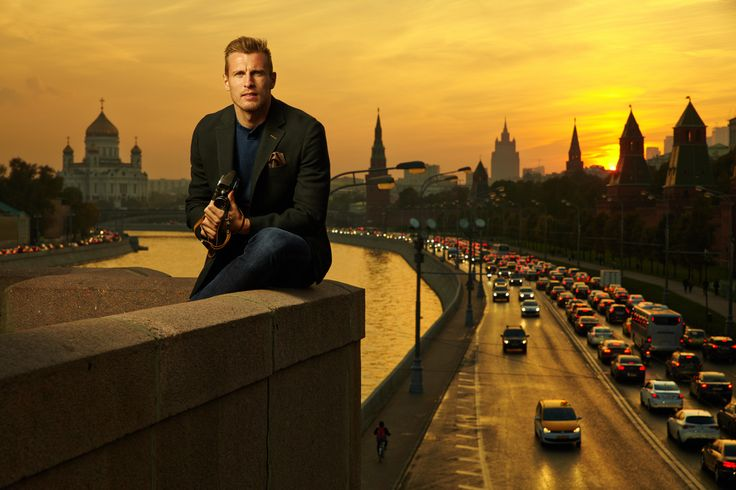 Moscow. River. Bolshoi Kamennyi most. Yan Durica. Football player. Lokomotiv.