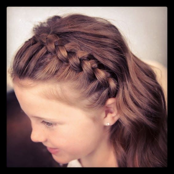 peinados con trenzas peinados sencillos con trenzas y pelo suelto