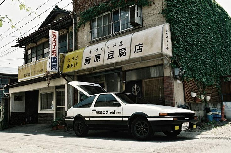 Toyota Sprinter Trueno Apex on AE86 chassis - Initial D in real life