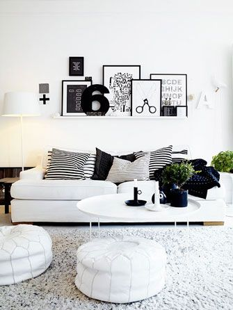 This may be a solution where we have too many photos that need to go up. Frames #frames #wall via http://nordicdesign.ca