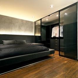 Masculine closet by Architology. | Modern Closets | Pinterest | Wardrobe interior design ...