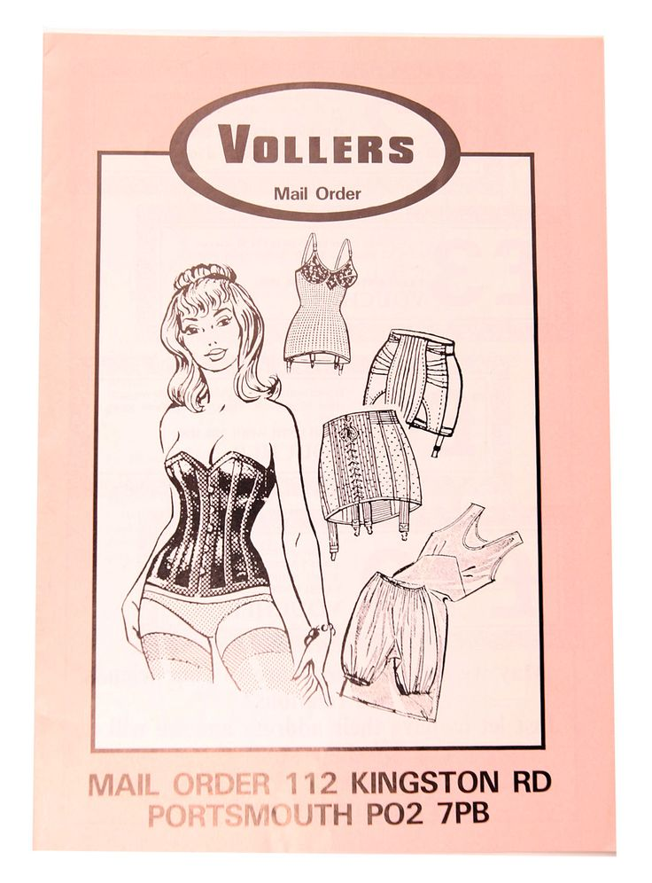 Past Vollers Mail Order Catalogue Cover