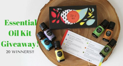 Win A Supreme Essential Oils Package With 6 Oils! {US}... sweepstakes IFTTT reddit giveaways freebies contests