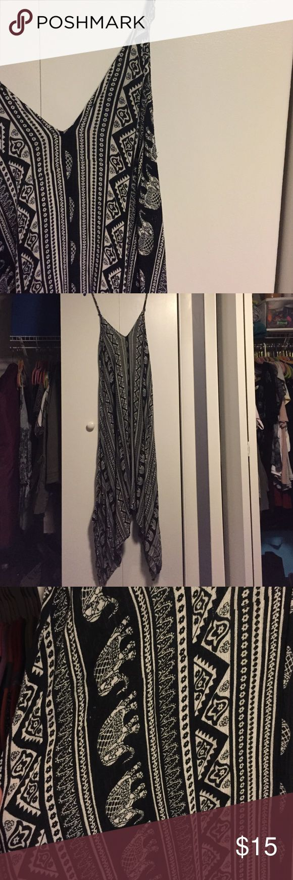 Aztec maxi dress Worn once, in great gently used condition. NO TRADES Rue 21 Dresses Maxi