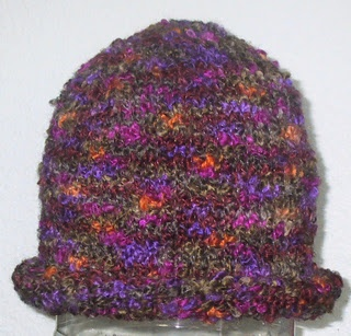 Free Crochet Patterns For Rainbow Boucle Yarn : Great project to use up leftover Joannes Rainbow Boucle ...
