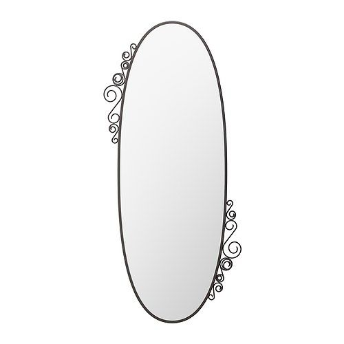 EKNE Mirror IKEA Can be hung horizontally or vertically. Safety film  reduces damage if glass is broken.