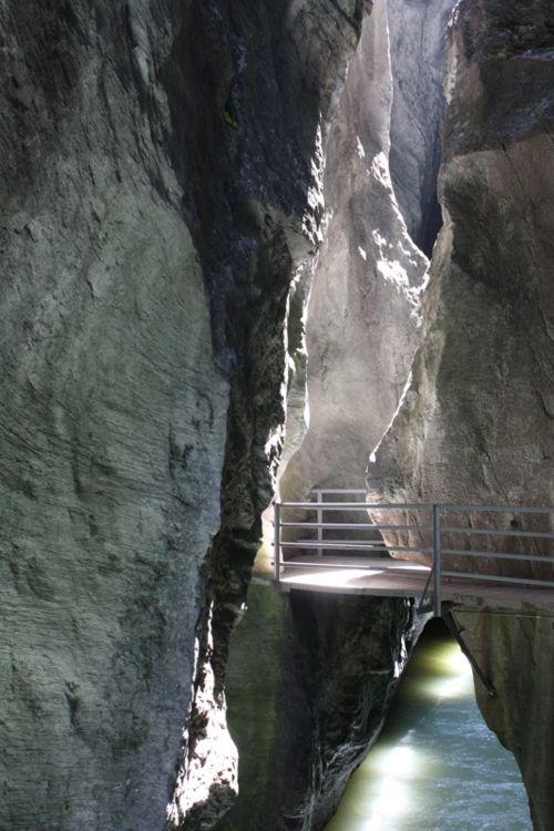 Aareschlucht - the Gorges of Aar in Bern, Switzerland