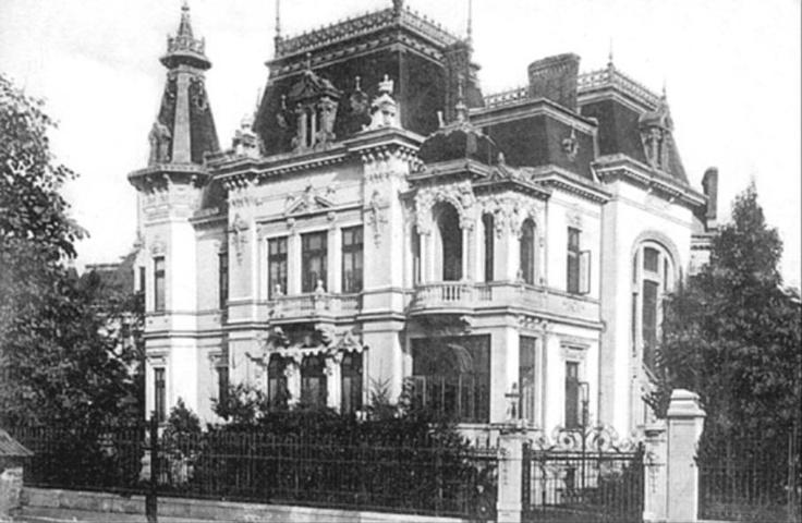 Bucuresti - Palatul Somanescu, pe str. C. A. Rosetti