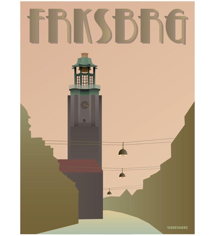 FRKSBRG - Rådhuset. You can buy this piece at www.artrebels.com #artrebels #art #vissevasse
