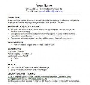 best resume templates 2014 best free resume template australia 2018