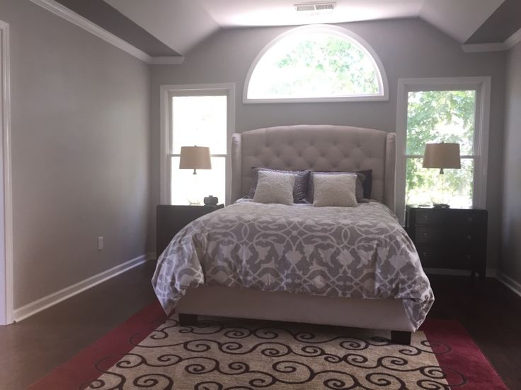 Master bedroom sherwin williams light french gray sw - Light grey paint color for bedroom ...