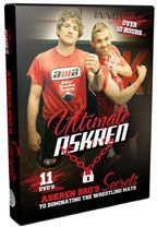 The Ultimate Askren Wrestling DVD Set - featuring Ben Askren, 2x NCAA Champion (4x NCAA finalist) and 2x Dan Hodge Trophy winner at the University of Missouri; 2008 US Olympian; and Max Askren, 2010 NCAA Champion, 3x All-American, and 2x Big 12 Champion at the University of Missouri; Ben and Max were the 10th set of brothers in history to both win Division I NCAA titles