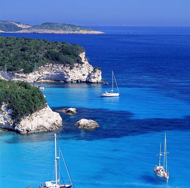 Paxos island, Ionian Islands, Greece