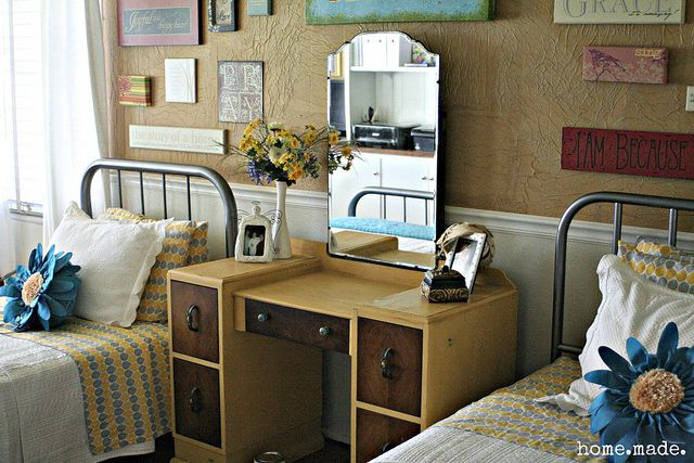 Turquoise And Yellow Bedroom Blog Pinterest The O 39 Jays Desks And Boys
