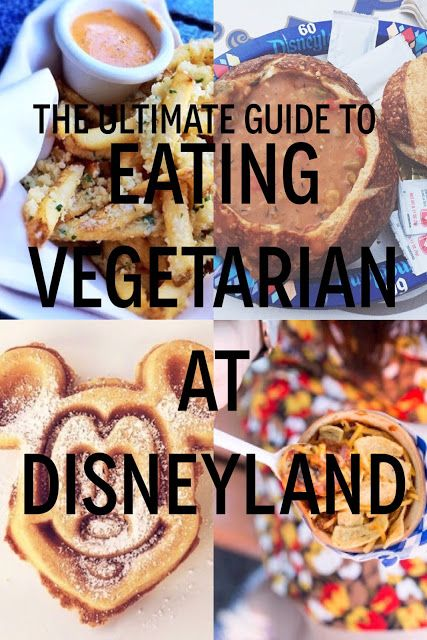 The Ultimate Guide to Eating Vegetarian / Vegan at Disneyland and Disneyland California Adventure!