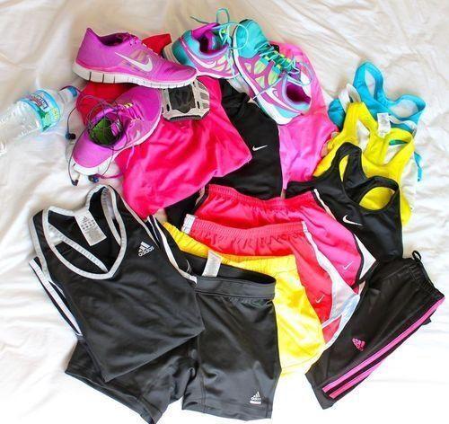 I like workout clothes :)