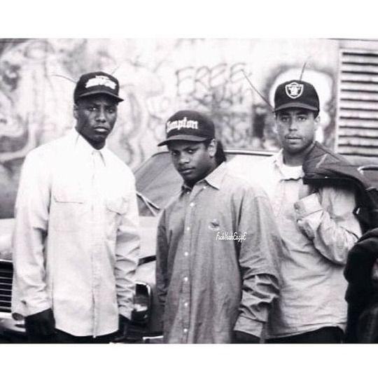 NWA MC Ren, Eazy-E & DJ Yella