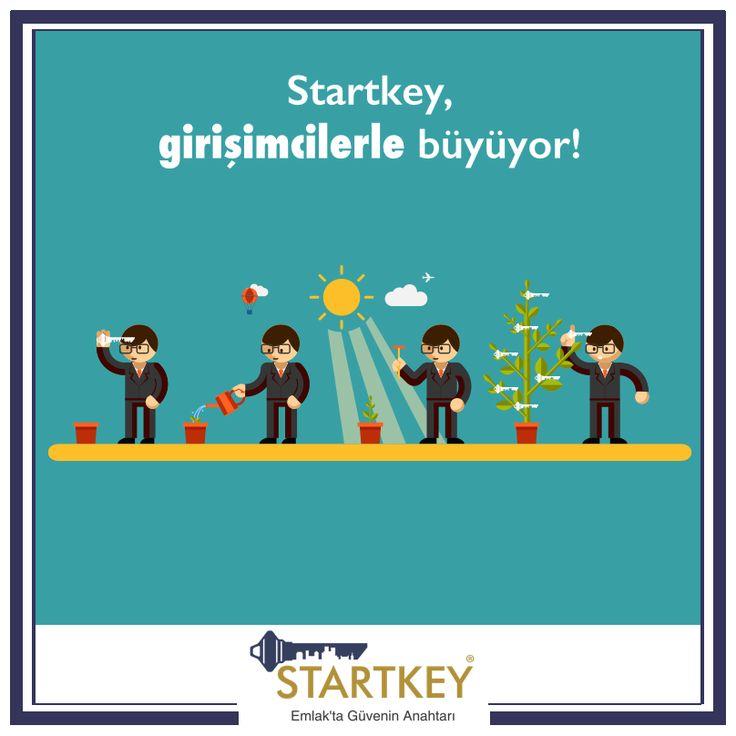 Startkey, girişimcilerin işlerine olan tutkularıyla büyüyecek!