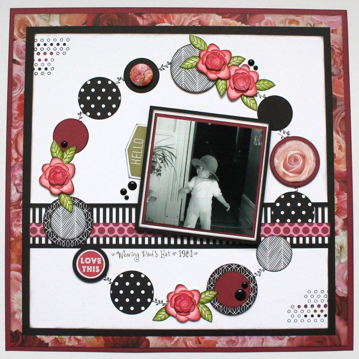Creative Scrapbooker Magazine:  Close To My Heart and Tracy McLennon #CTMHLaVieEnRose