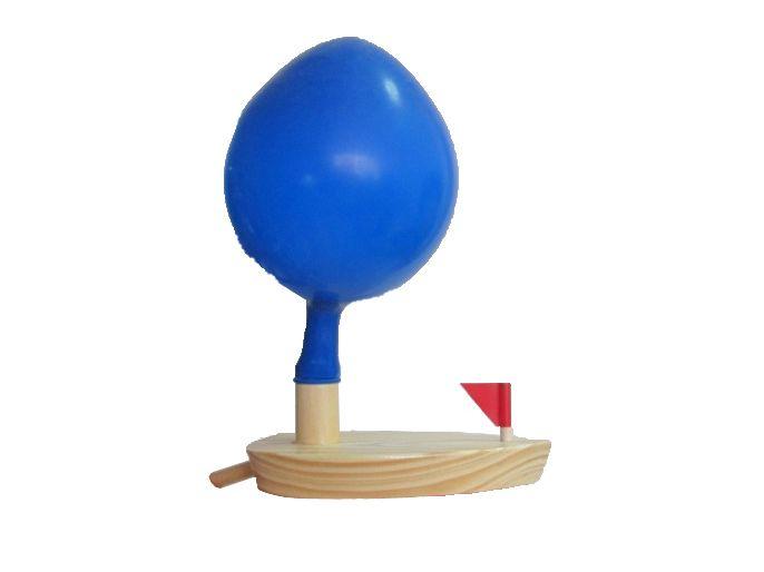 houten speelgoed ballonnen zomer opspattend water speelgoed houten boot klassieke speelgoed- multi- gekleurde(China (Mainland))