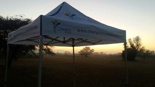 Sunrise in rooiberg South Africa race day