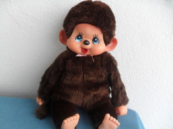 80s Toy Dolls : Vintage monchhichi plush monkey doll s