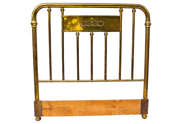 Brass Headboard on OneKingsLane.com