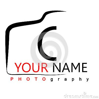 Photography Logo on white background camera logo with isolated ...