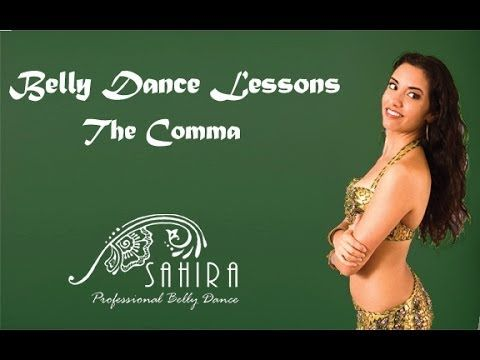 Belly Dance Lessons - The Comma - YouTube
