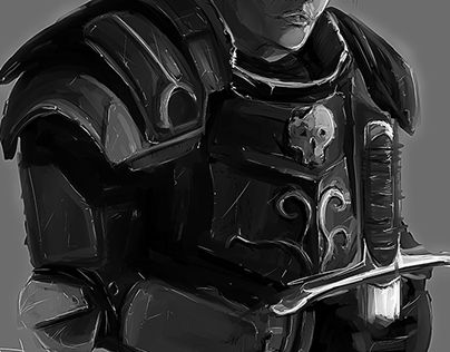 "Check out new work on my @Behance portfolio: ""Concept art of a knight""…"