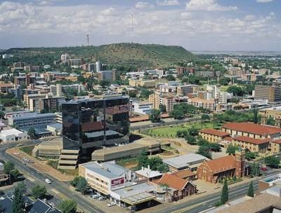 Sunny Bloemfontein!