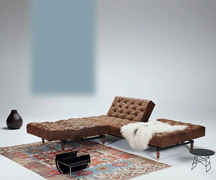 Innovation - Divano Letto Oldschool | Design: Per Weiss | Collezione: Istyle | Materiali: Ecopelle |