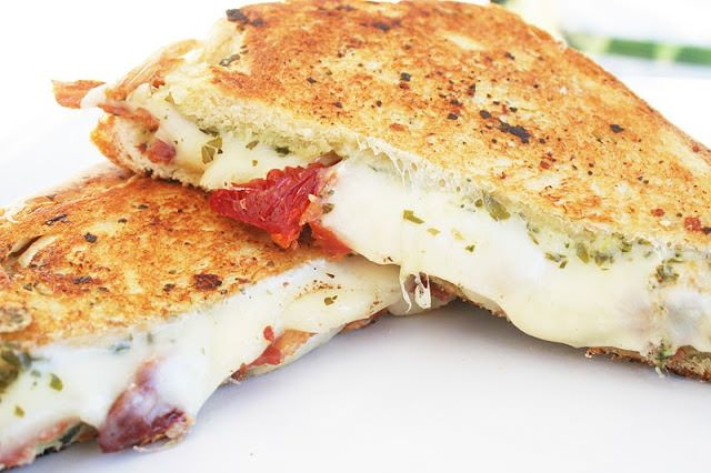 The Pesto Grilled Cheese (The Mean, Green Loafy Machine), with our favorite Tillamook cheese, is a must try, like now!