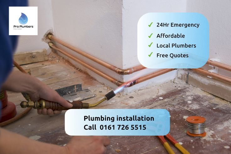 Manchester Plumbing Services In 2020 Plumbing Installation Plumbing Plumber