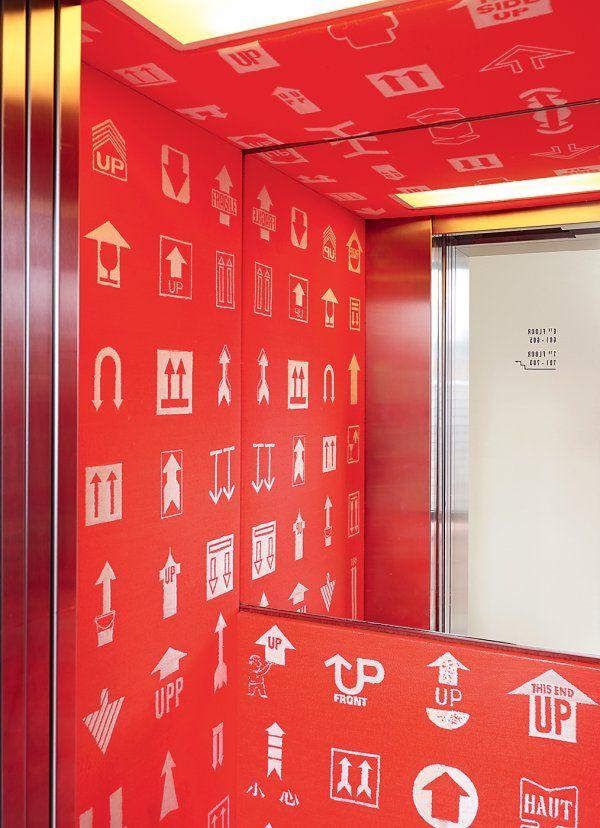 Un ascenseur design