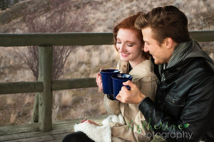 Cozy Cute Couple Shoot