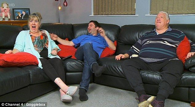 Taste of fame:George is the only other member of the Gogglebox team to have appeared on a...