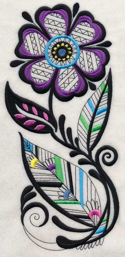 Machine Embroidery Designs at Embroidery Library! - Color Change - H9726