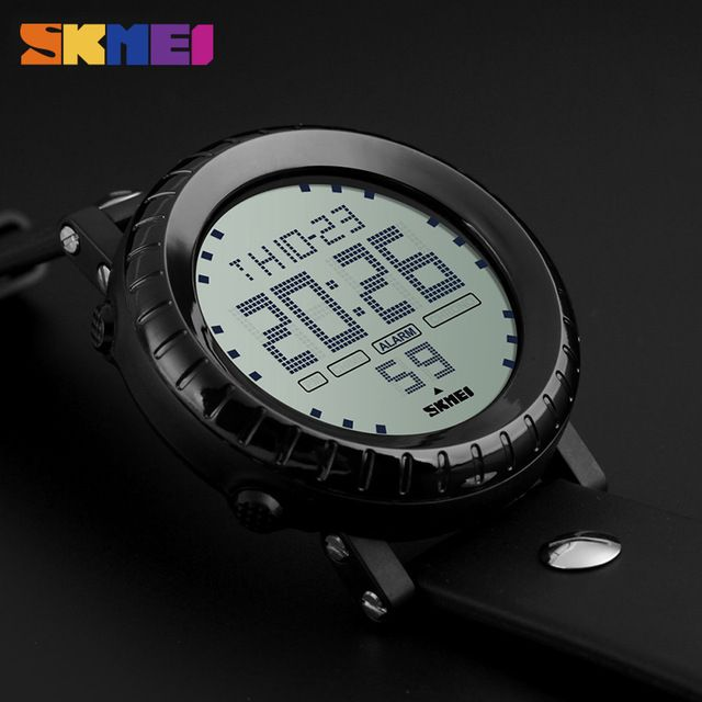 Buy now Sports Watches Men Digital Wristwatches LED Waterproof Back light Chronograph Alarm Watch Reloj Para Hombre Male Relojes Hombre just only $12.99 with free shipping worldwide  #menwatches Plese click on picture to see our special price for you
