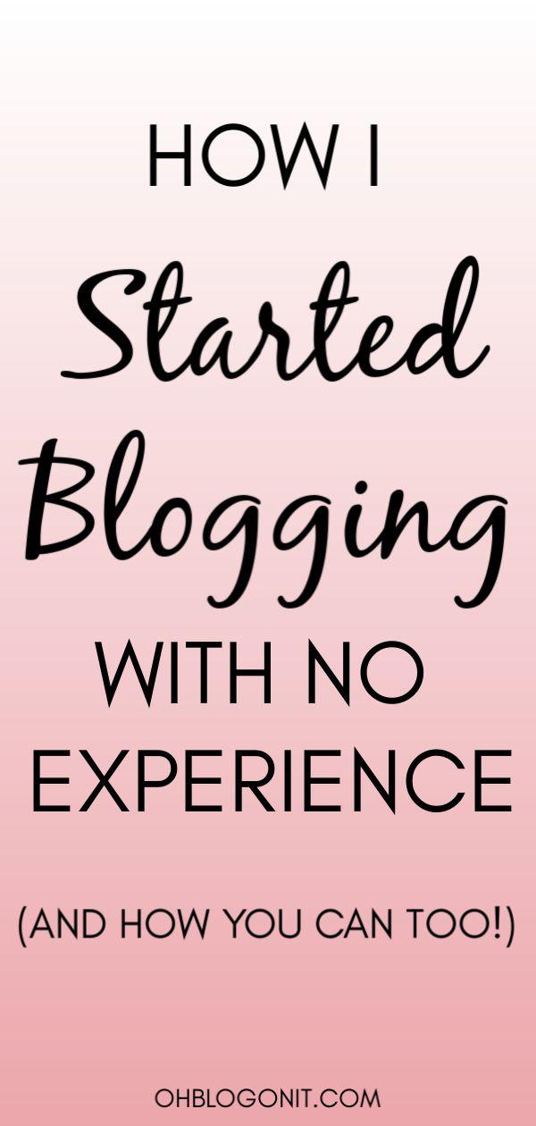 Starten eines Blogs ohne Erfahrung? Ist Erfolg im Jahr 2020 möglich?  – OHBLOGONIT.COM